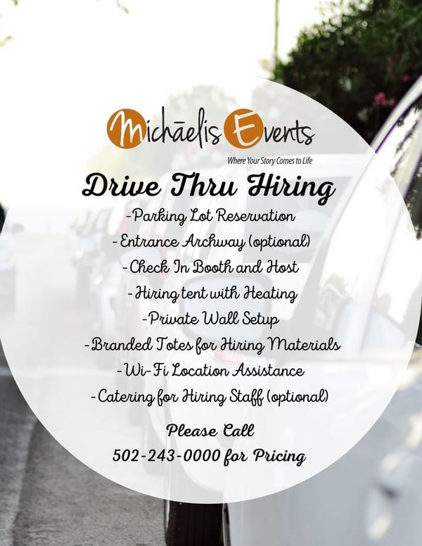 Drive Thru Hiring