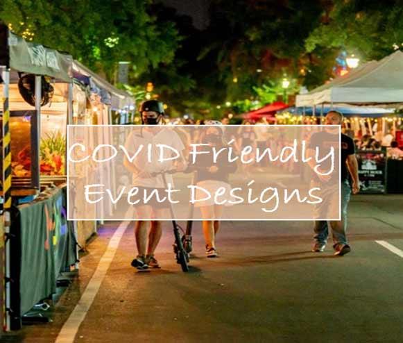 covid friendly event designs