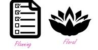 planning and floral